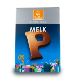 DeHeer Chocolate Letter 65g Milk P