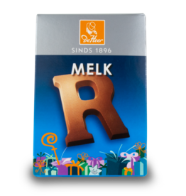 DeHeer Chocolate Letter 65g Milk R
