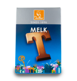 DeHeer Chocolate Letter 65g Milk T