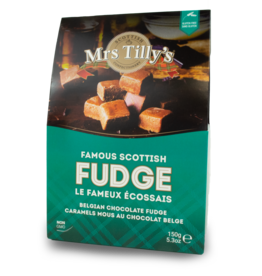 Mrs Tilly's Mrs Tilly's Fudge - Belgian Chocolate 150g