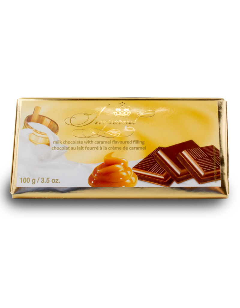 Imperial Imperial Chocolate Bar with Caramel 100g