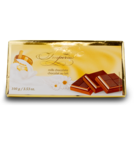 Imperial Milk Chocolate Bar 100g