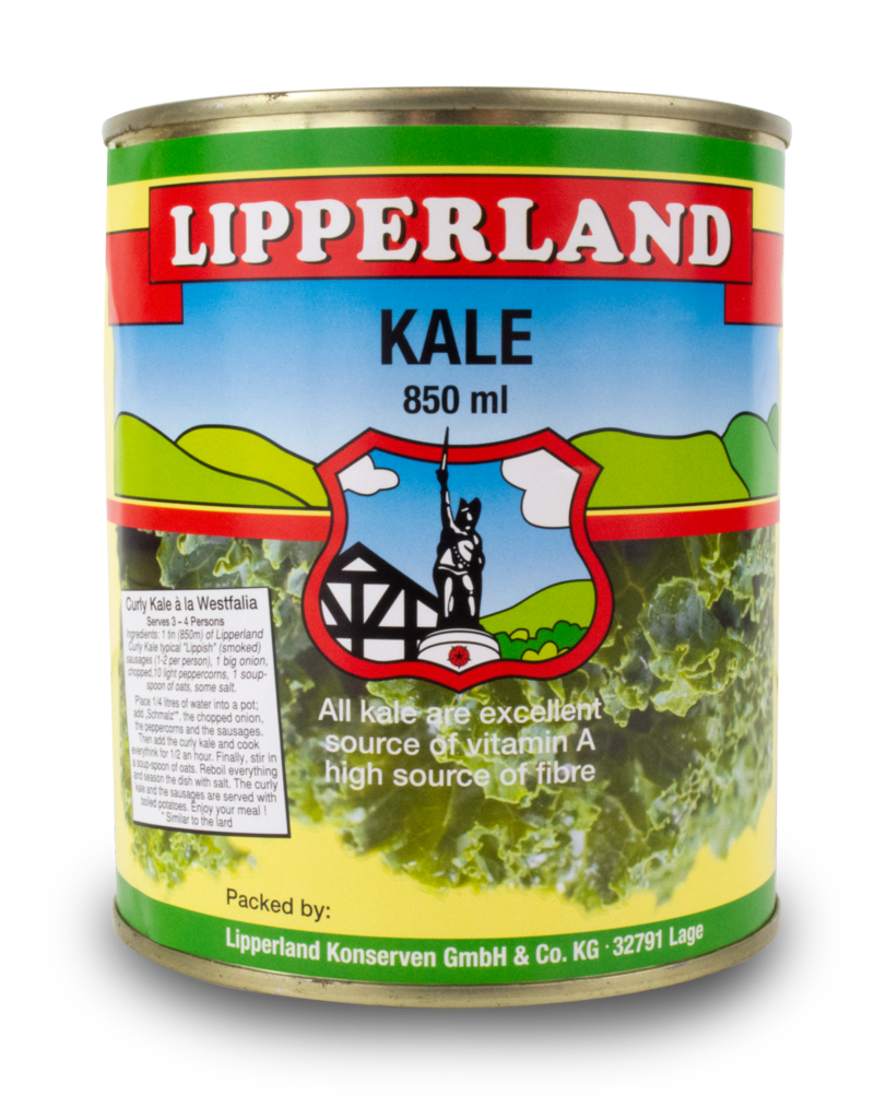 Lipperland Lipperland Canned Kale 850ml