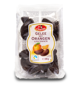 Sir Charles Gelee Orangen Chocolate Jelly Oranges 200g