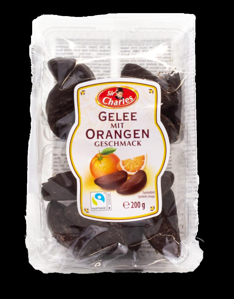 Sir Charles Sir Charles Gelee Orangen Chocolate Jelly Oranges 200g