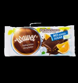 Wawel Sugar Free Dark Chocolate with Orange 100g