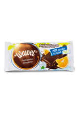 Wawel Wawel Sugar Free Dark Chocolate with Orange 100g