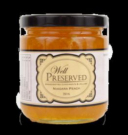 Community Living Well Preserved Jam - Niagara Peach 250ml