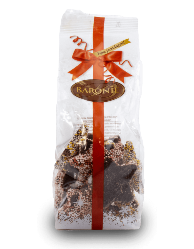 Baronie Baronie Chocolate Stars 200g