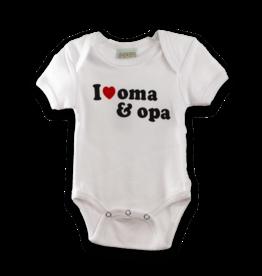 Onesie - I Love Opa & Oma