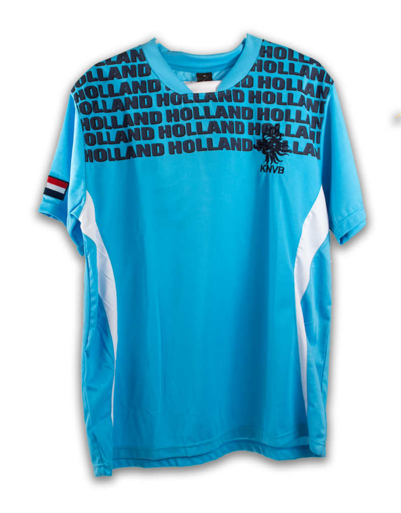 Shirt - Holland KNVB Soccer Blue XL