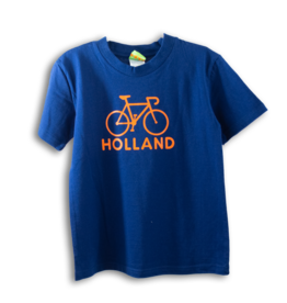 Kids Shirt - Holland Bike Blue 5/6
