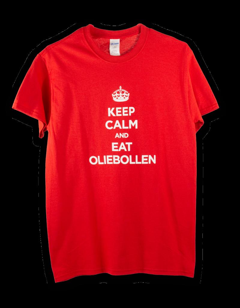 Shirt - Keep Calm and Eat Oliebollen