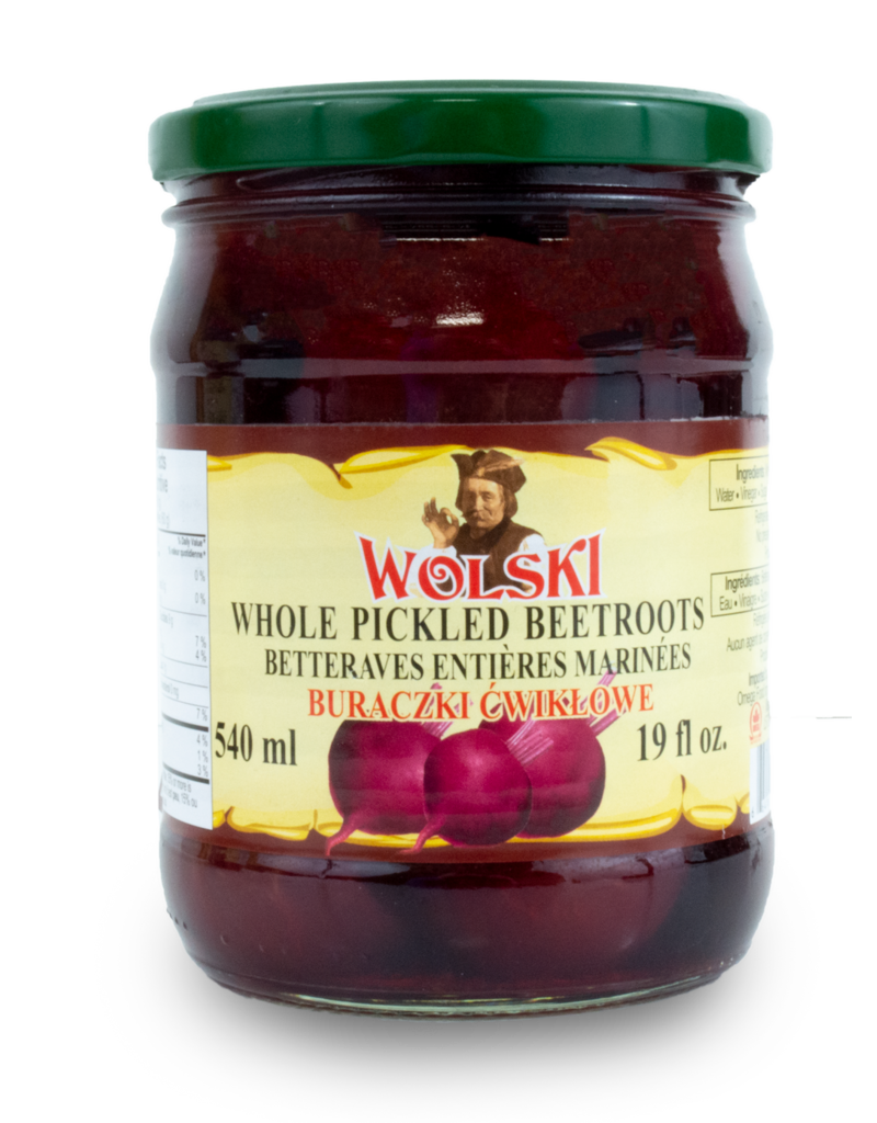 Wolski Wolski Whole Beets 540ml