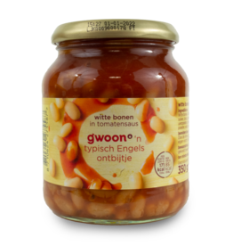 Gwoon White Beans in Tomato 350g