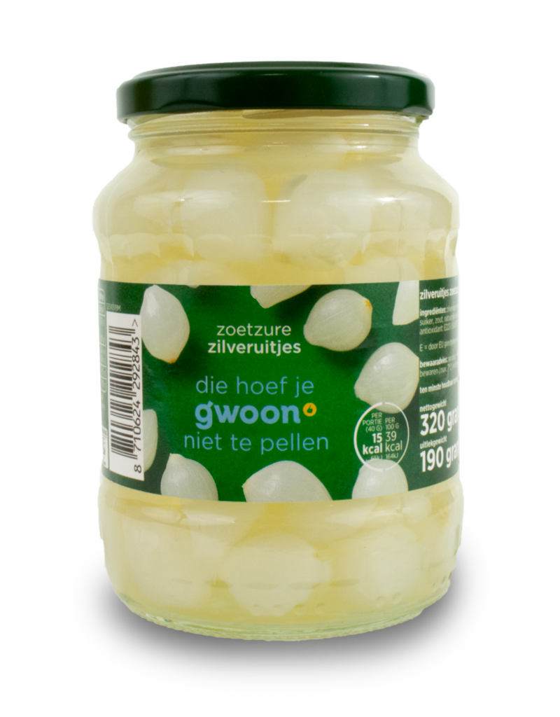 Gwoon Gwoon Cocktail Onions 320g