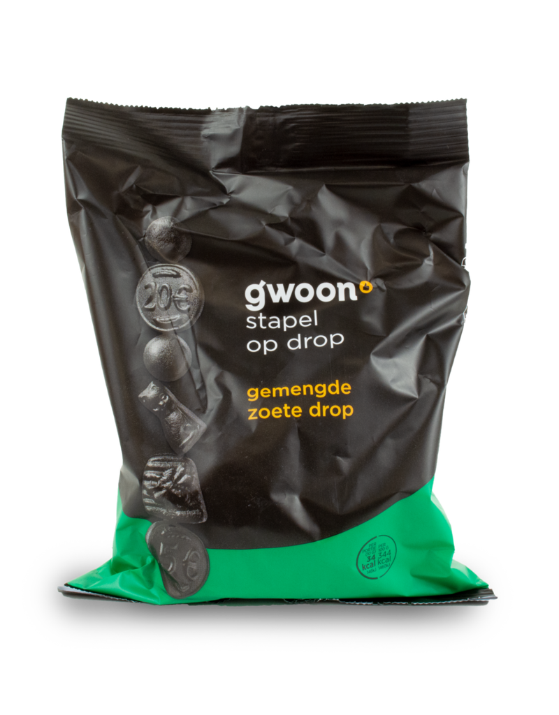 Gwoon Gwoon Gemengde Zoete (Sweet) Drop 400g