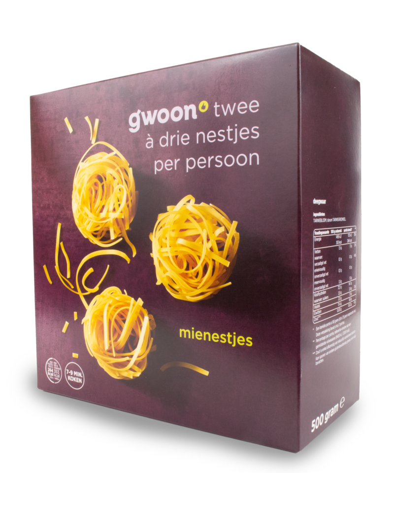 Gwoon Gwoon Mie Nests 500g