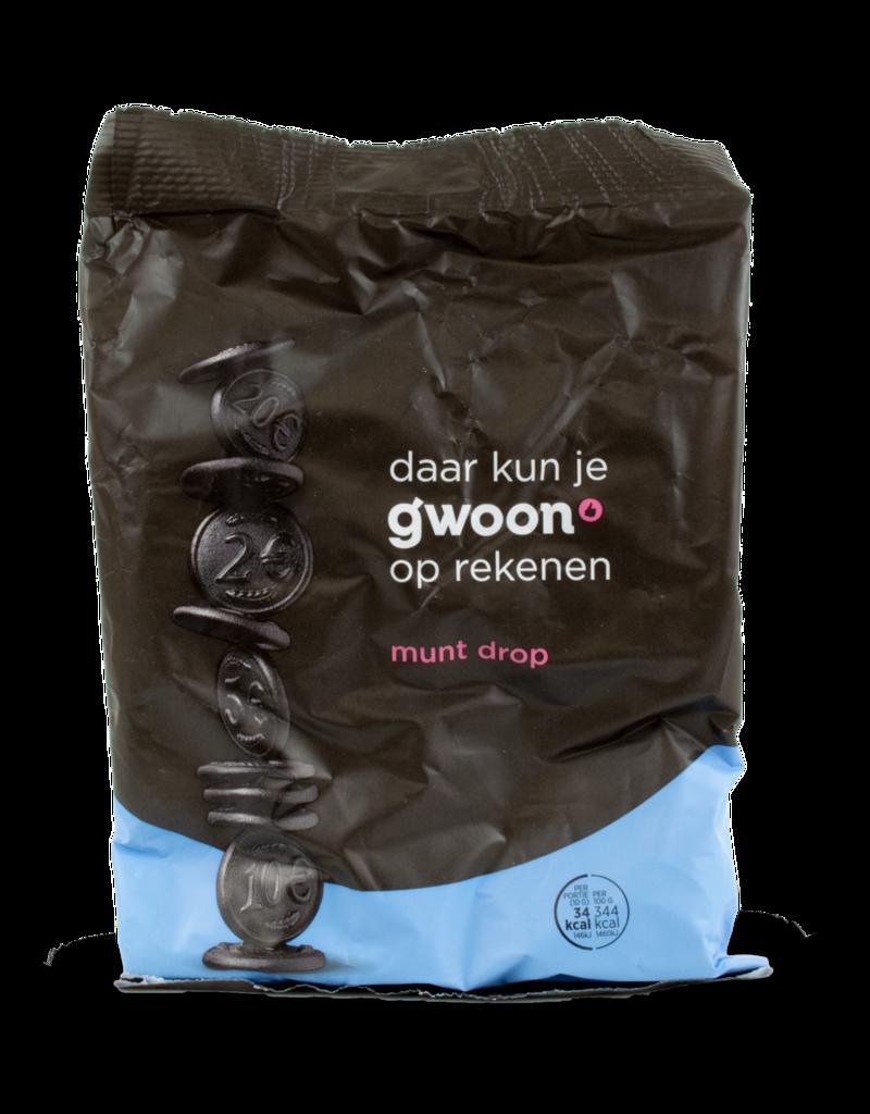 Gwoon Gwoon Muntdrop (Coin Liquorice) 400g