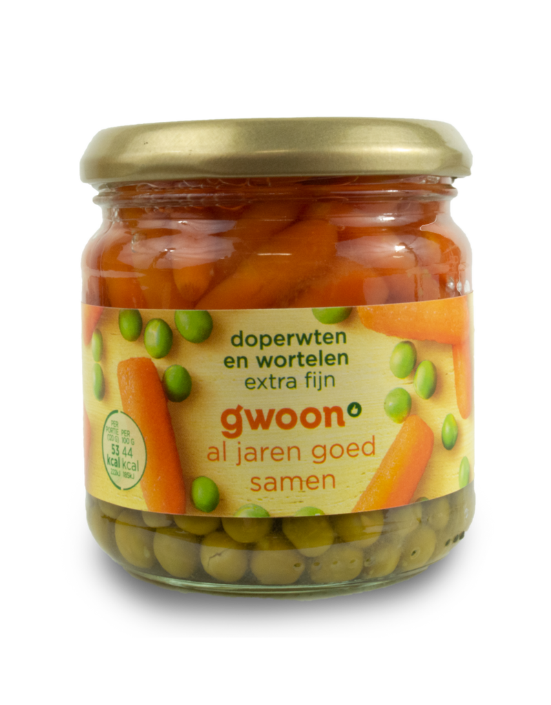 Gwoon Gwoon Peas & Carrots 120g