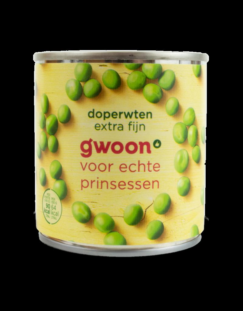 Gwoon Gwoon Peas Extra Fine in Tin 200g