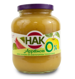 Hak Applemoes 0% Sugar 700g