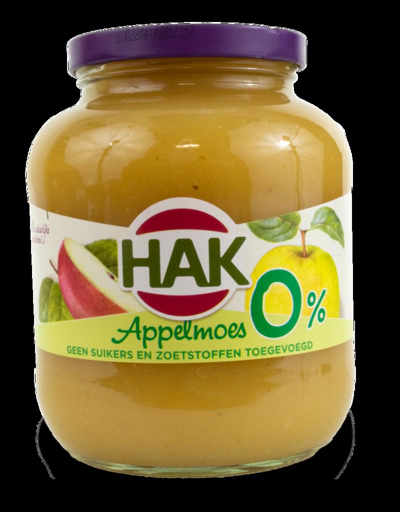 Hak Hak Applemoes 0% Sugar 700g