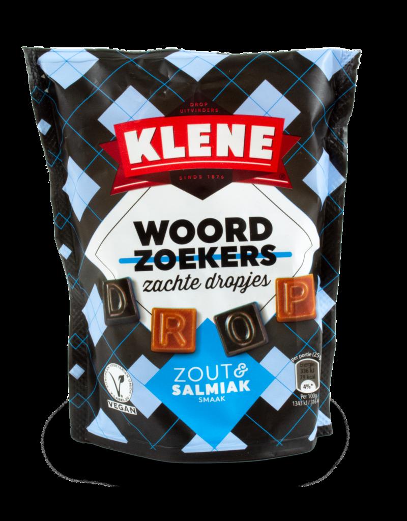 Klene Klene Woordoekkers Zout & Salmiak 220g