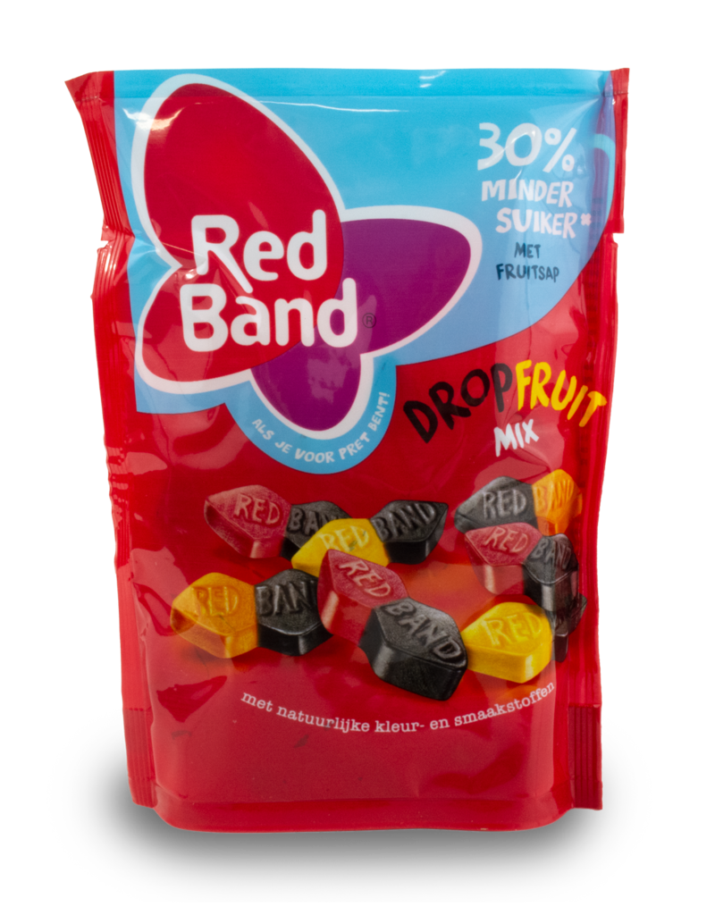 Red Band Red Band Dropfruit Mix Reduced Sugar 200g