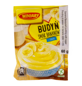 Winiary Banana Flavoured Pudding 60g