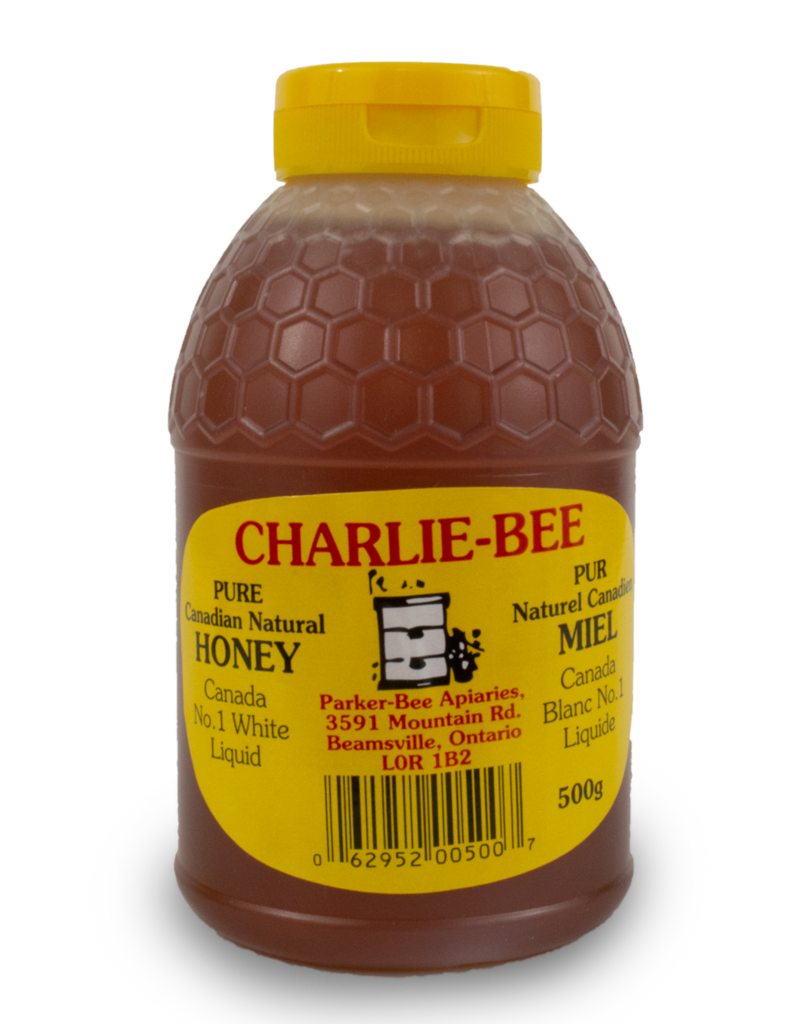 Charlie Charlie Bee Pure Canadian Honey Squeeze Bottle 500g