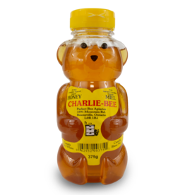 Charlie Bee Honey Bear 375g