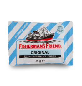 Fisherman's Friend Original Extra Strong No Added Sugar 25g