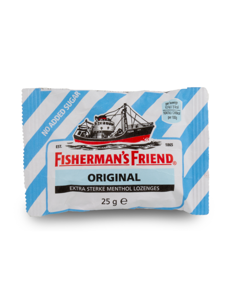 Fisherman's Friend Fisherman's Friend Original Extra Strong No Added Sugar 25g