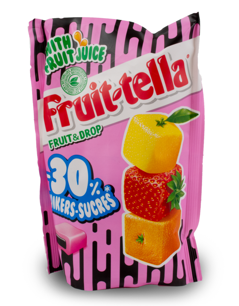 Fruittella Fruittella Fruit & Drop 120g