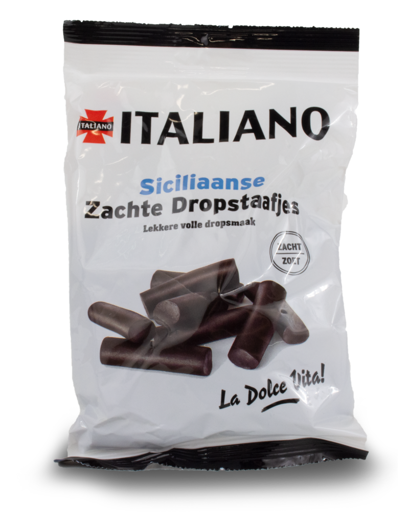 Italiano Italiano Sicilian Soft Liquorice Sticks 250g