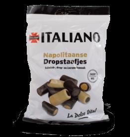 Italiano Neapolitan Liquorice Sticks 250g