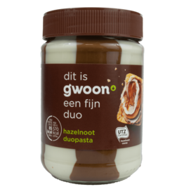 Gwoon Hazelnut Duo Spread 400g