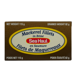 Sea Haul Mackerel Fillets in Brine 115g