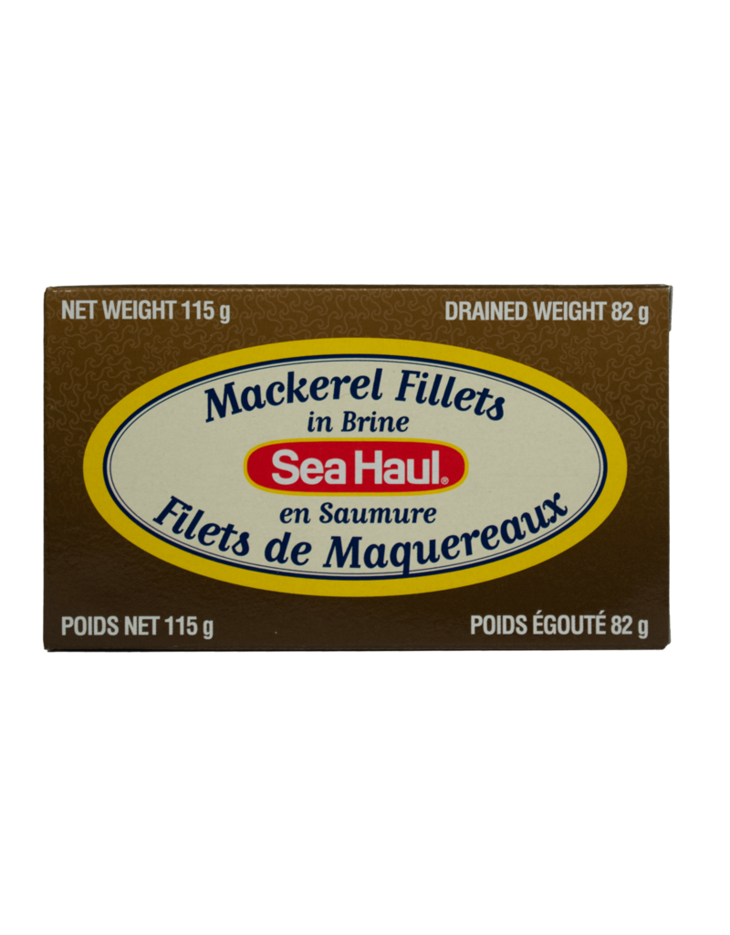 Sea Haul Sea Haul Mackerel Fillets in Brine 115g
