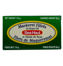 Sea Haul Mackerel Fillets in Soya