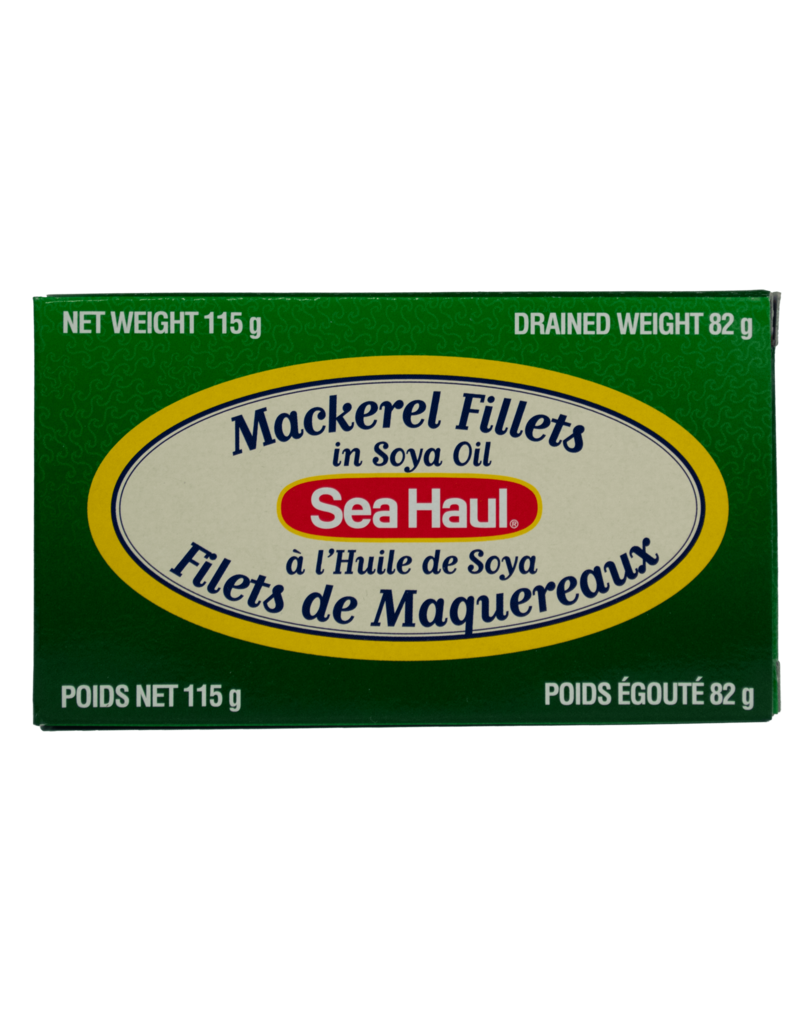 Sea Haul Sea Haul Mackerel Fillets in Soya
