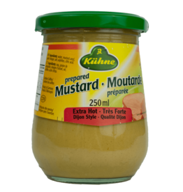 Kuhne Mustard - Extra Hot 250ml