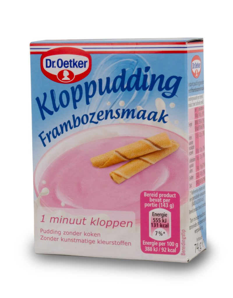 Dr Oetker Dr Oetker Pudding Mix - Raspberry