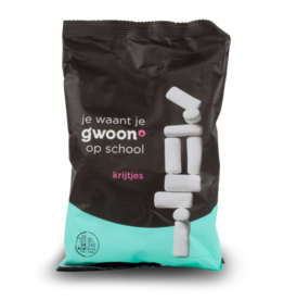 Gwoon School Chalk Licorice 250g
