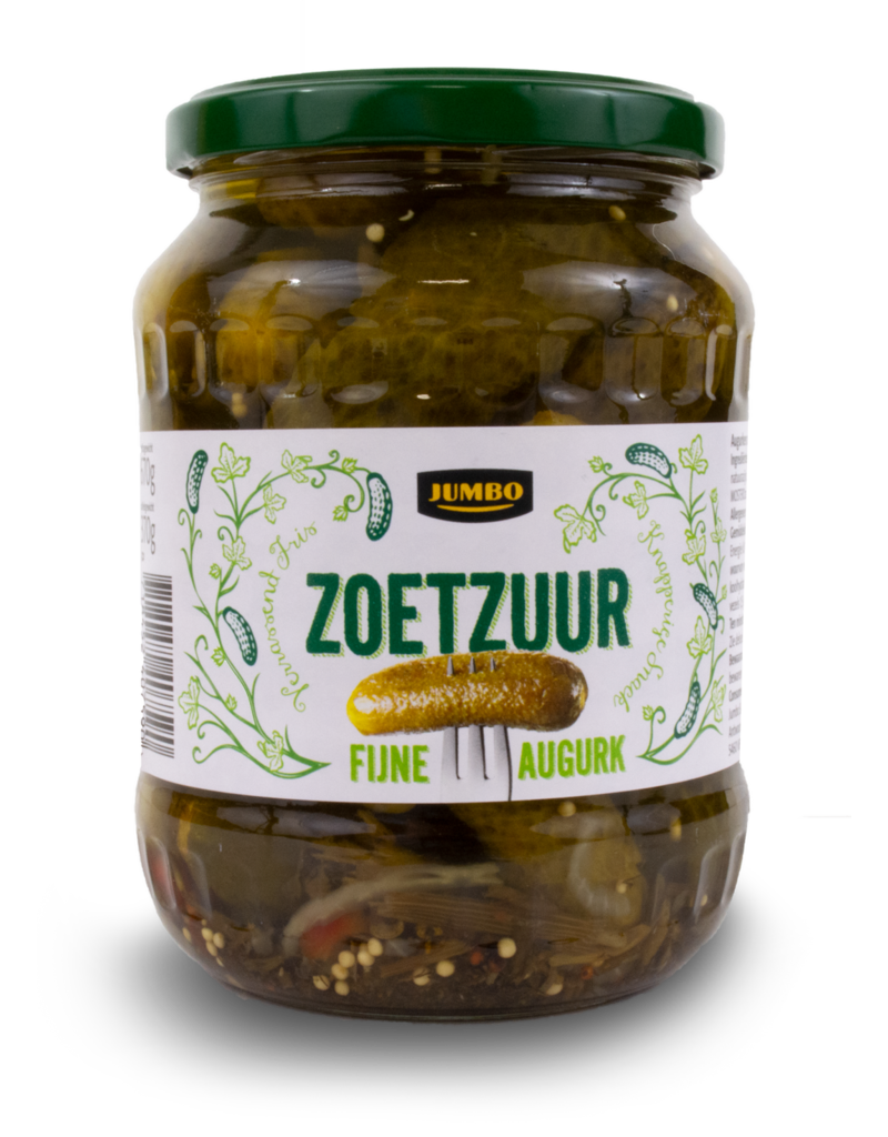 Jumbo Jumbo Sweet and Sour Pickles 720ml