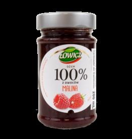 Lowicz 100% Raspberry Jam 220g