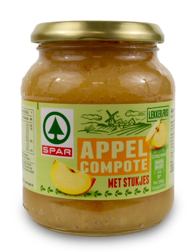 Spar Spar Apple Compote 360g