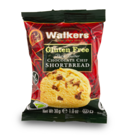 Walkers Gluten Free Chocolate Shortbread 2 Pack 30g