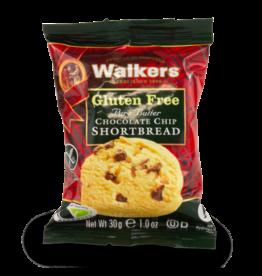 Walkers Gluten Free Chocolate Shortbread 2pk 30g